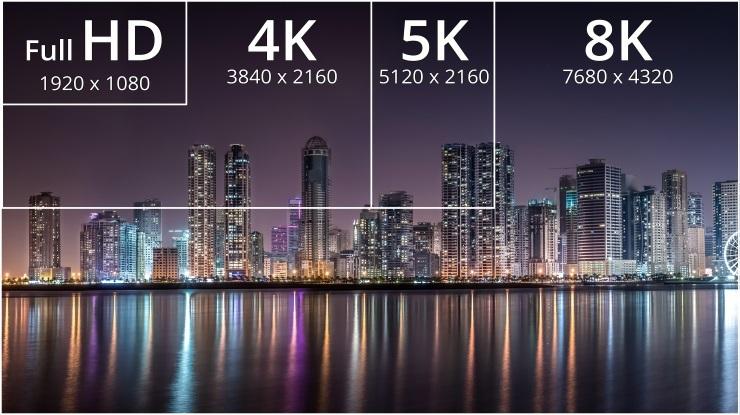 تلویزیون 4k یا 8k ،کدام بهتر است؟